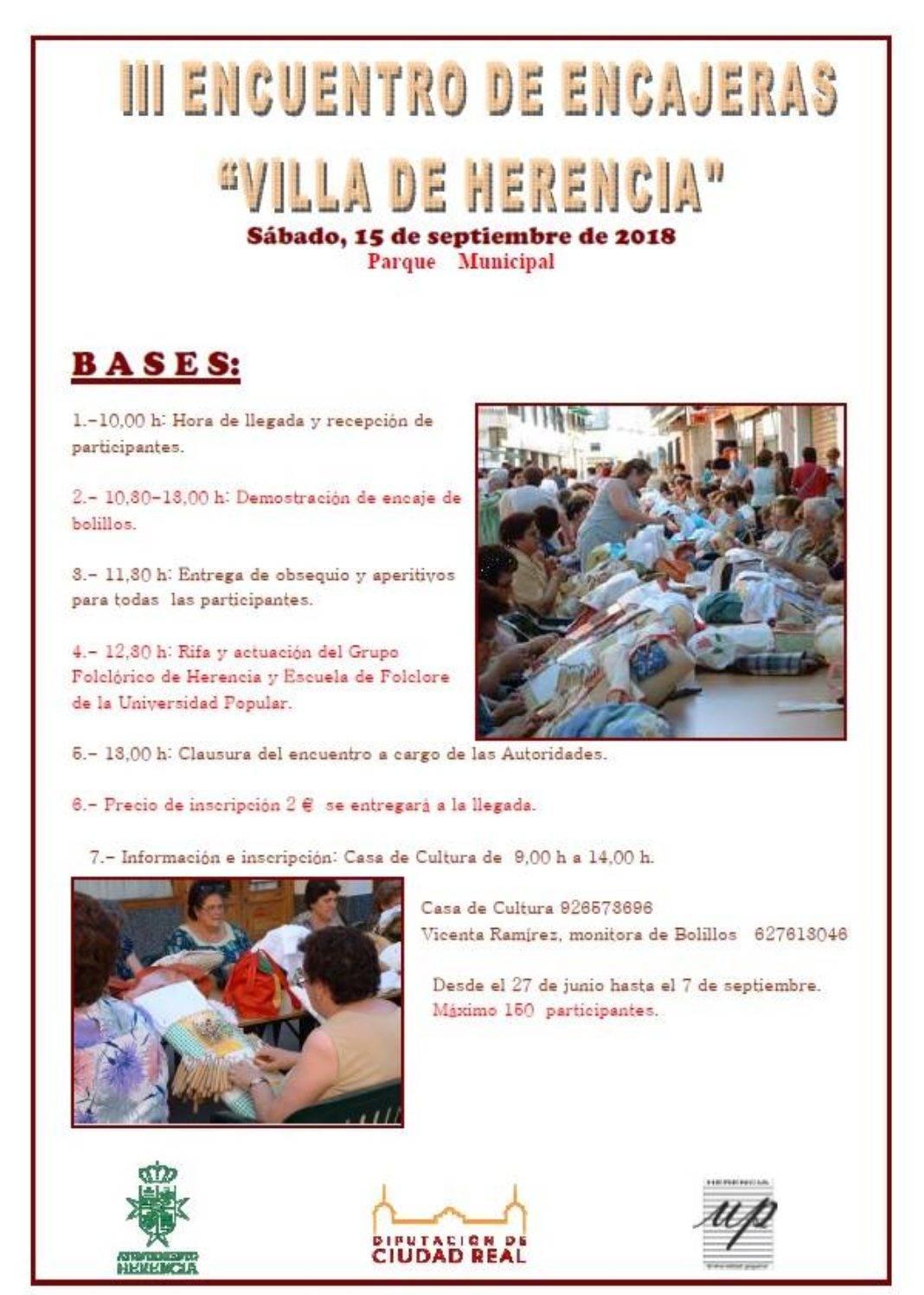 III Encuentro de Encajeras de HErencia 1068x1496 - III Encuentro de encajeras de Herencia