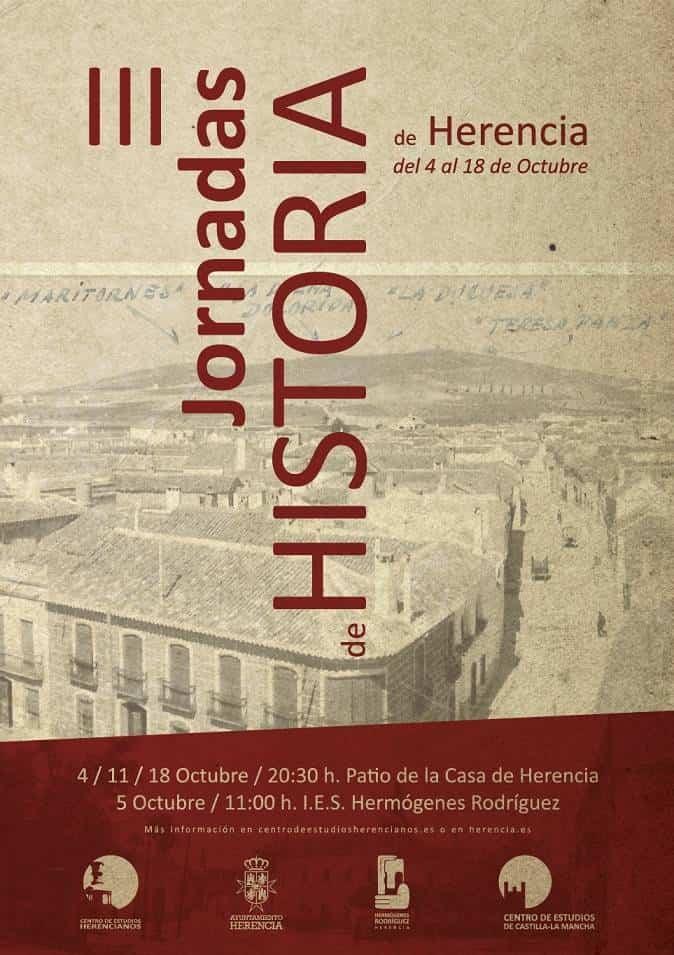 III Jornadas de Historia 1 - Durante octubre se celebrarán las III Jornadas de Historia de Herencia
