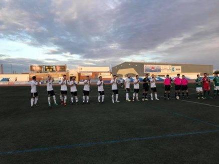Primer partido de la liga y primera victoria del Herencia CF 1