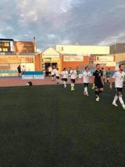 Primer partido de la liga y primera victoria del Herencia CF 2