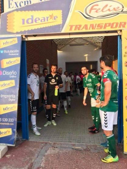 Primer partido de la liga y primera victoria del Herencia CF 3