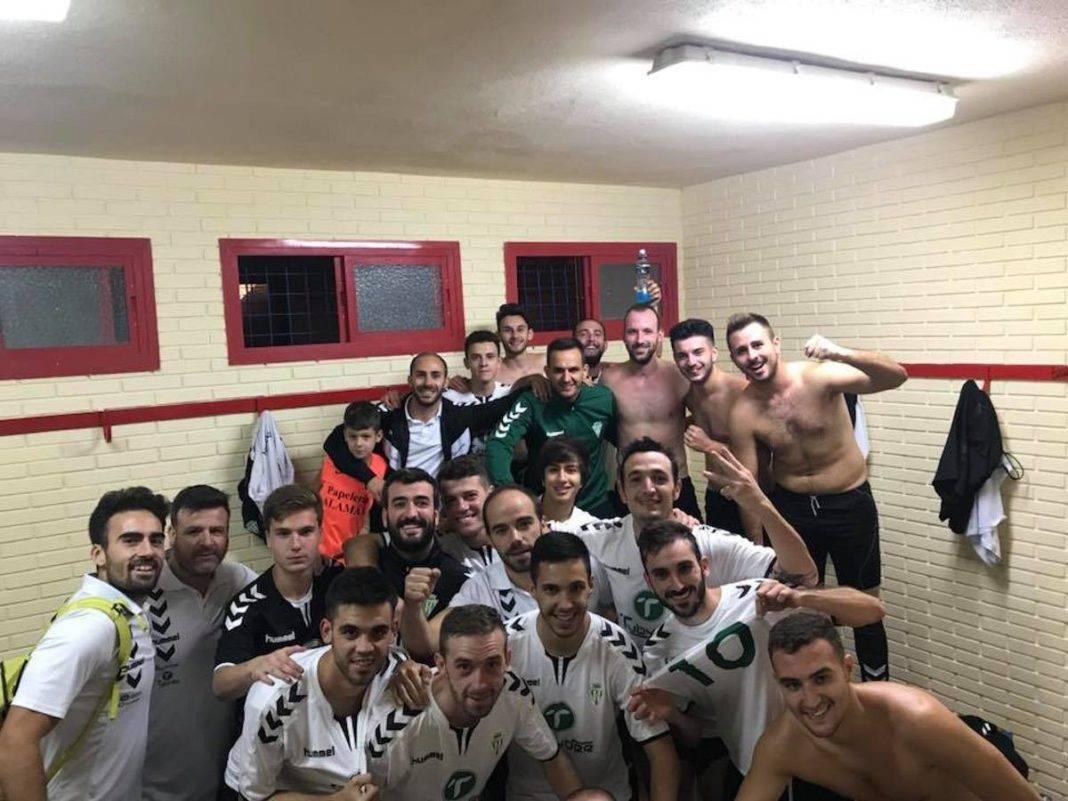 Primer partido de la liga y primera victoria del Herencia C.F. 7