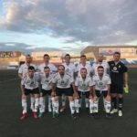 Primer partido de la liga y primera victoria del Herencia C.F. 6
