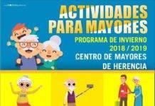 Programa de invierno de actividades para mayores en Herencia