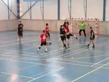 Un partido duro entre el BM Cobisa y CBM Quijote Herencia 1
