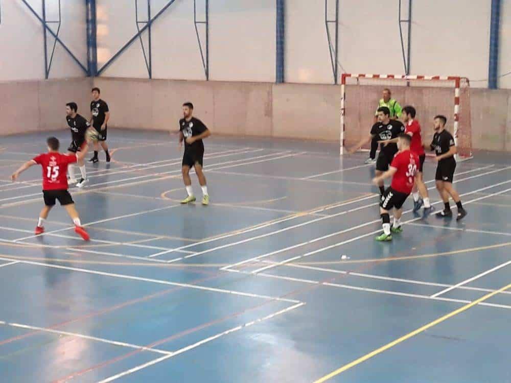 Un partido duro entre el BM Cobisa y CBM Quijote Herencia 2