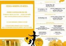 Abierto el periodo de matriculación 2018/2019 en la Escuela de Música de Herencia