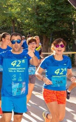 """Más de 500 corredores en la 42 Carrera Popular """"Villa de Herencia"""" 56"""