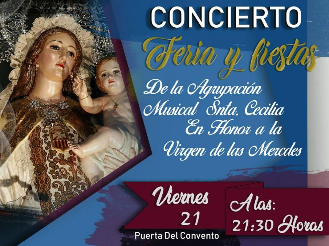 concierto de feria de la agrupación musical Santa Cecilia 1068x800 - Concierto de feria de la agrupación musical Santa Cecilia