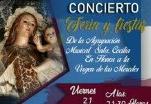 Concierto de feria de la agrupación musical Santa Cecilia