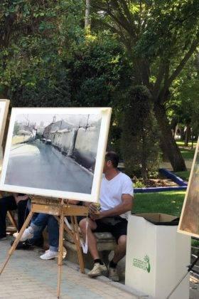 """concurso de pintura rapida feria 2018 herencia 12 280x420 - Celebrado el XII Certamen Nacional de Pintura Rápida """"Villa de Herencia"""""""