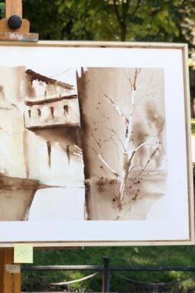 """concurso de pintura rapida feria 2018 herencia 7 280x420 - Celebrado el XII Certamen Nacional de Pintura Rápida """"Villa de Herencia"""""""