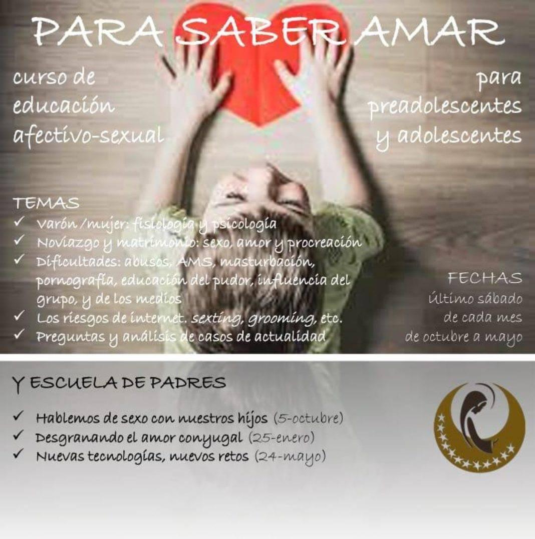 curso de educacion afectivo sexual de la parroquia de herencia 1068x1077 - La parroquia de Herencia prepara un curso de educación afectivo-sexual