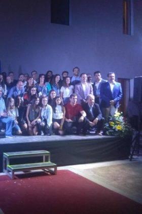 El balonmano de Herencia presente en la gala de la Federación Regional 6