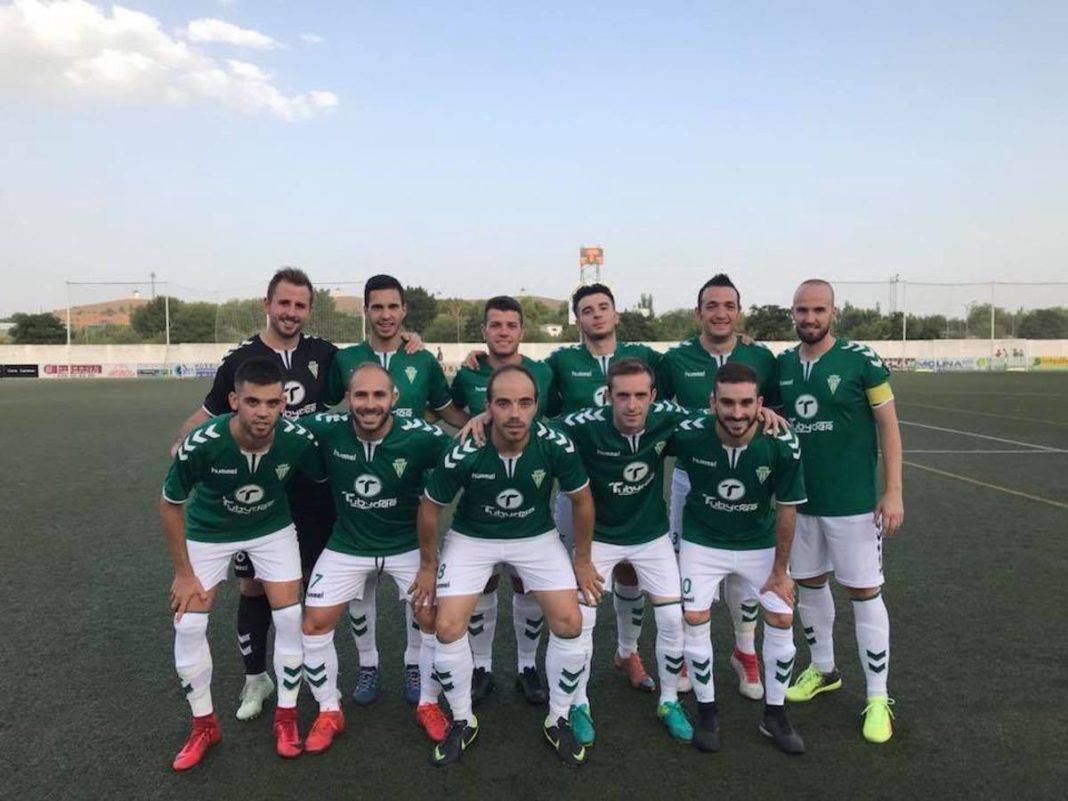 El primer equipo del Herencia C.F. tuvo un fin de semana redondo 10
