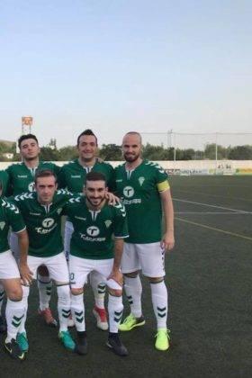 El primer equipo del Herencia C.F. tuvo un fin de semana redondo 1