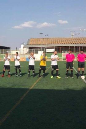 El primer equipo del Herencia C.F. tuvo un fin de semana redondo 2