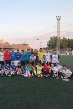 El primer equipo del Herencia C.F. tuvo un fin de semana redondo 3