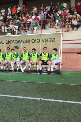 El primer equipo del Herencia C.F. tuvo un fin de semana redondo 4