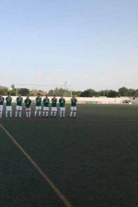 El primer equipo del Herencia C.F. tuvo un fin de semana redondo 5