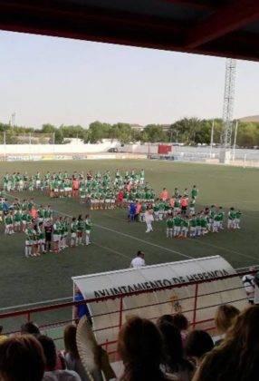 El primer equipo del Herencia C.F. tuvo un fin de semana redondo 6