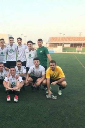 El primer equipo del Herencia C.F. tuvo un fin de semana redondo 7