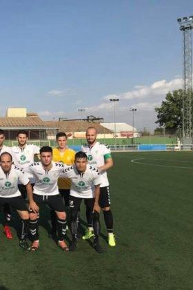 El primer equipo del Herencia C.F. tuvo un fin de semana redondo 8