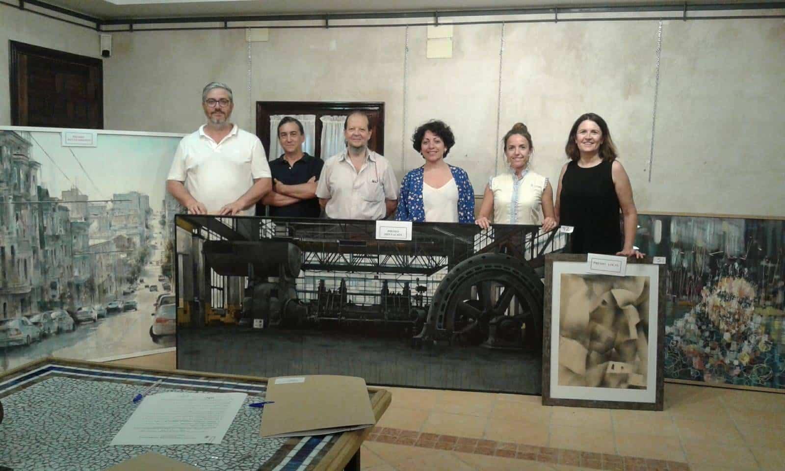 """Jurado del XXXVI Concurso Nacional de Pintura """"Jesús Madero"""""""