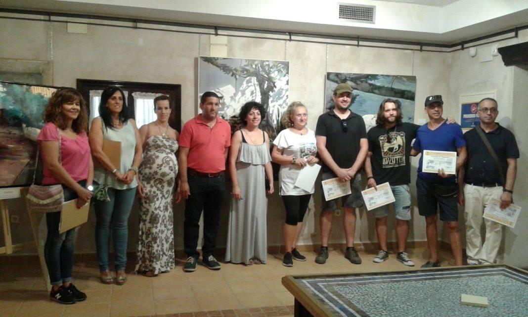 """jurado y ganadores pintura rapida 2018 herencia 1068x641 - Celebrado el XII Certamen Nacional de Pintura Rápida """"Villa de Herencia"""""""