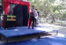 """Los más pequeños disfrutaron de """"Mágicos de Remate"""" en el Parque Municipal"""