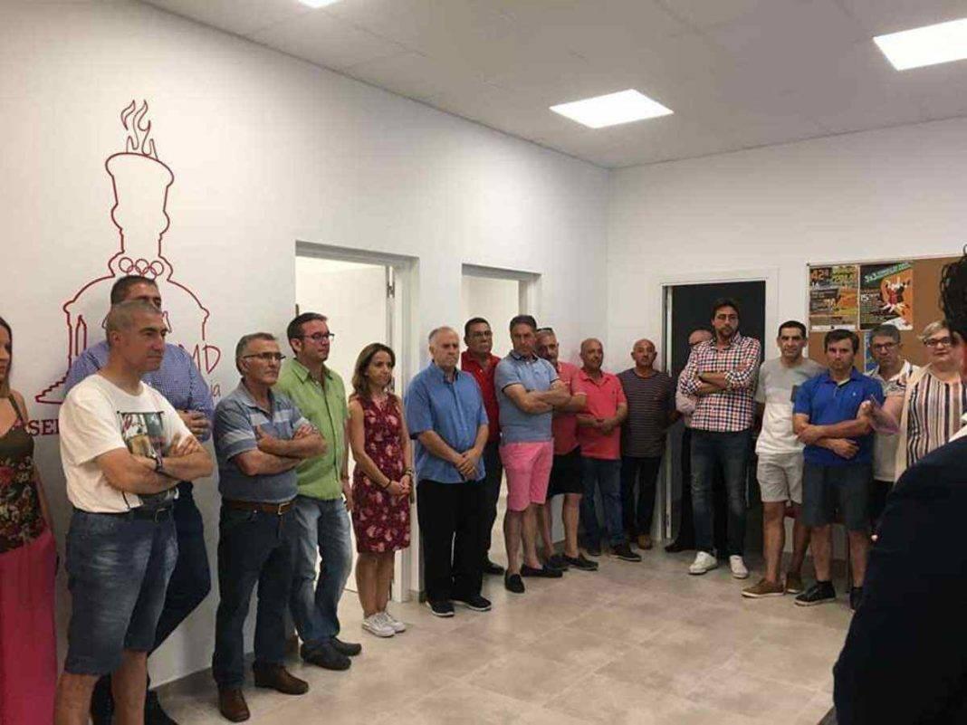 Inaugurado el nuevo edificio de oficinas y aulas de formación del SMD 13