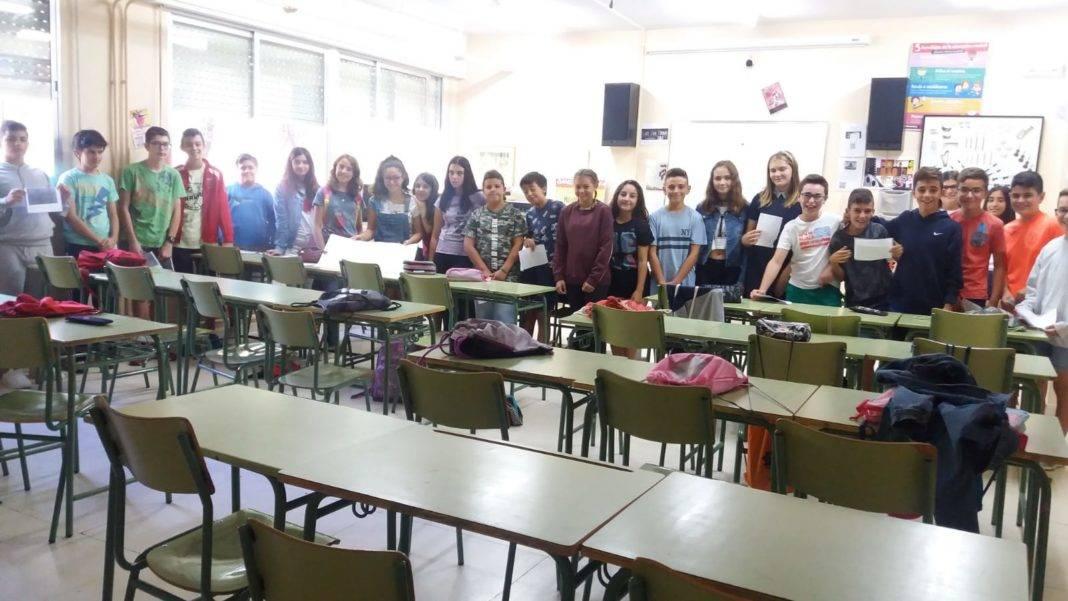nuevos alumnos 2018 2019 hermogenes rodriguez herencia 1068x601 - IES Hermógenes Rodríguez acogiendo nuevos alumnos con mucho ritmo