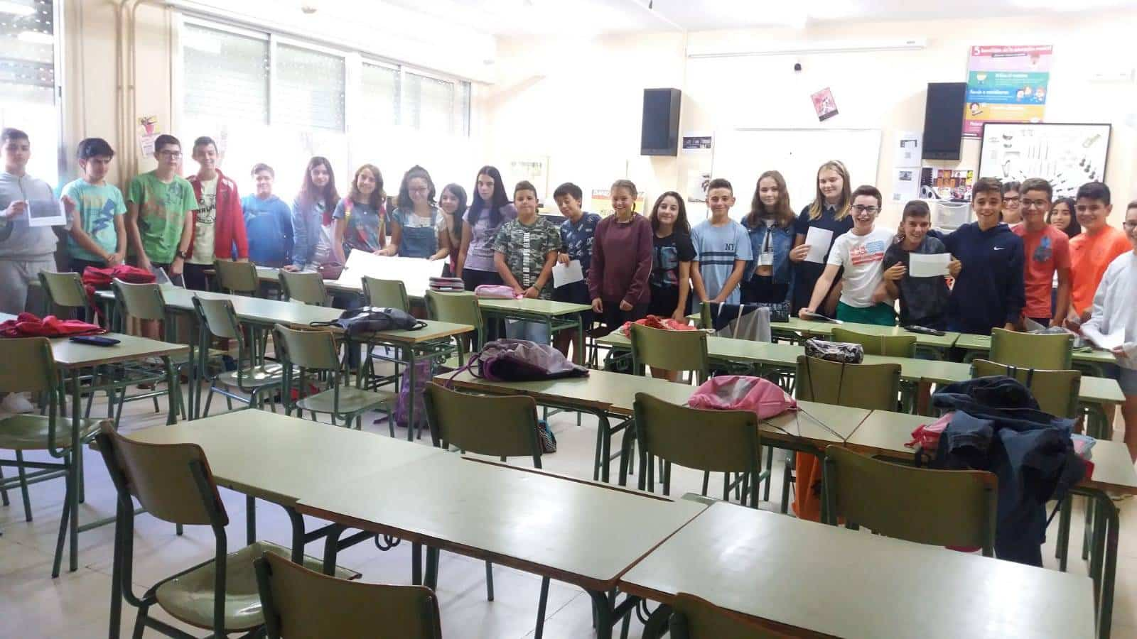 nuevos alumnos 2018 2019 hermogenes rodriguez herencia - IES Hermógenes Rodríguez acogiendo nuevos alumnos con mucho ritmo