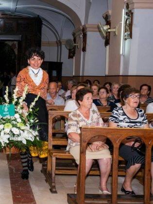 Galería de fotos de la ofrenda floral a la Virgen de la Merced 1