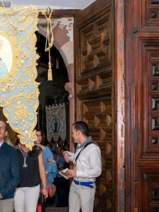Galería de fotos de la ofrenda floral a la Virgen de la Merced 13