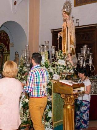 Galería de fotos de la ofrenda floral a la Virgen de la Merced 16