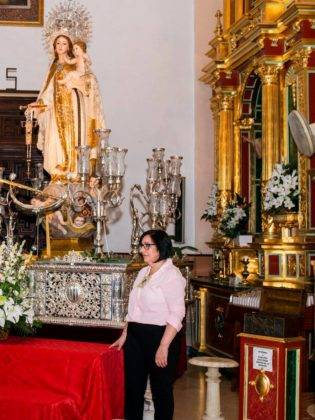 Galería de fotos de la ofrenda floral a la Virgen de la Merced 18