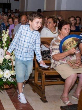 Galería de fotos de la ofrenda floral a la Virgen de la Merced 38