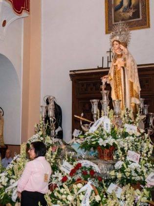 Galería de fotos de la ofrenda floral a la Virgen de la Merced 61