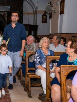 Galería de fotos de la ofrenda floral a la Virgen de la Merced 7