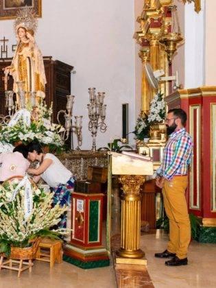 Galería de fotos de la ofrenda floral a la Virgen de la Merced 9