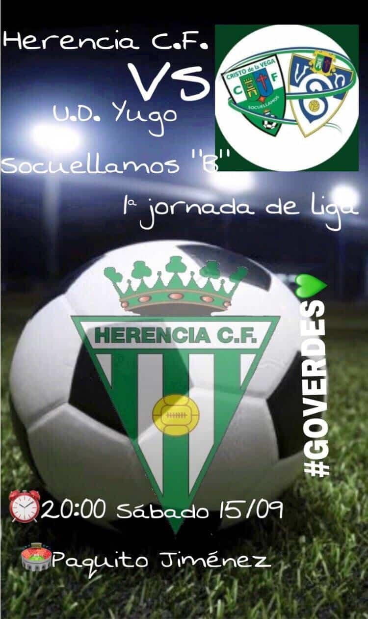 paquito jimenez socuellamos partido futbol - Herencia C.F. se enfrentará al U.D. Yugo en el Paquito Jiménez