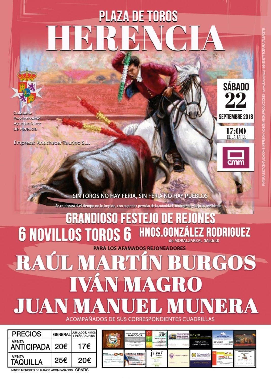 """""""Grandioso festejo con rejones"""" en la Feria y Fiestas de Herencia 4"""