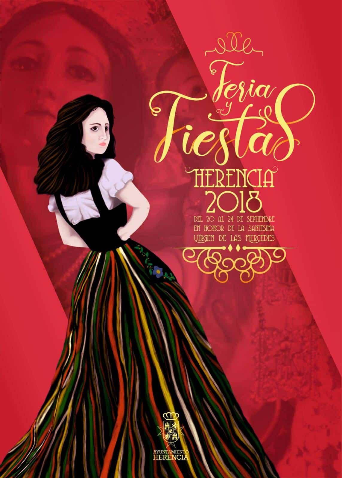 portada libro feria fiestas 2018 herencia - Programación de Feria y Fiestas de Herencia 2018