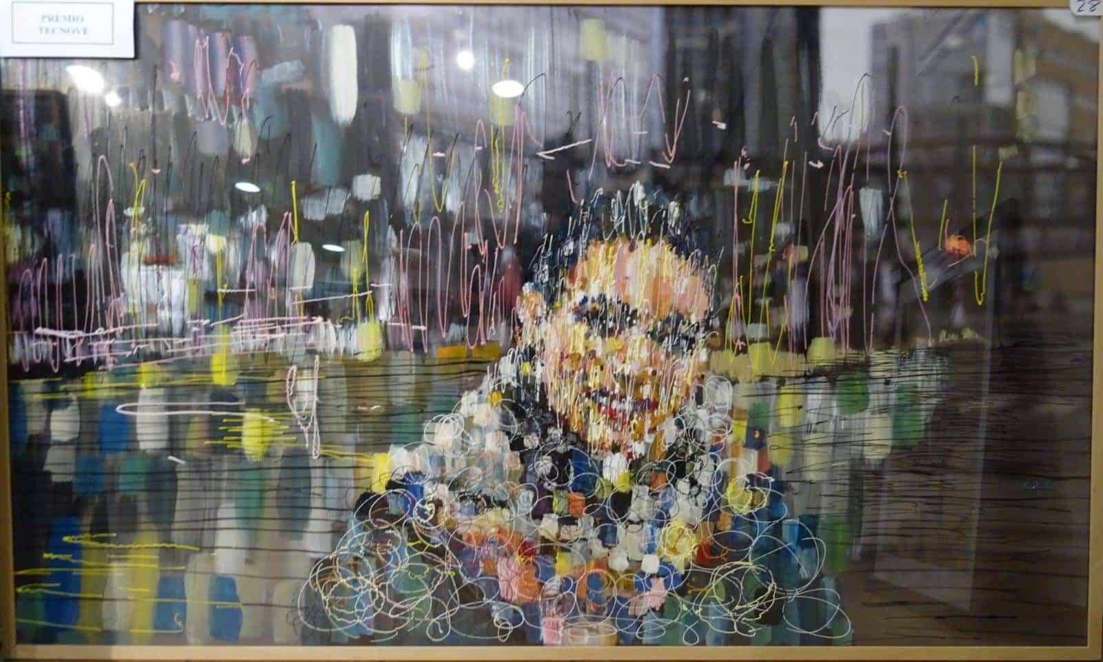 "premio tecnove XXXVI Concurso Nacional de Pintura - Obras premiadas en el XXXVI Concurso Nacional de Pintura ""Jesús Madero"""