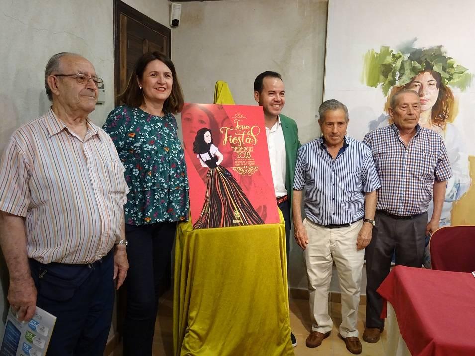 presentación de la feria y fiestas de herencia - La Feria y Fiestas de Herencia 2018 recupera su identidad y consolida la parte tradicional del municipio