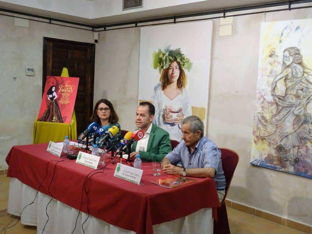 presentacion de la feria y fiestas de la merced de Herencia - La Feria y Fiestas de Herencia 2018 recupera su identidad y consolida la parte tradicional del municipio