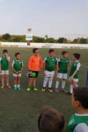 Presentación de las plantillas del primer equipo y del juvenil del C.D. Herencia C.F. 10