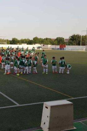 Presentación de las plantillas del primer equipo y del juvenil del C.D. Herencia C.F. 12
