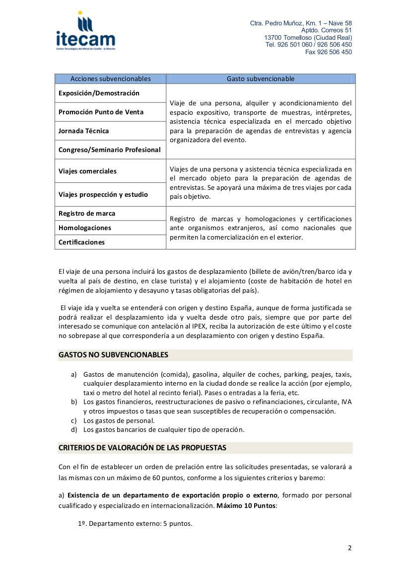 2 ayudas internacionalizacion empresas - Información sobre las ayudas para la internacionalización de empresas